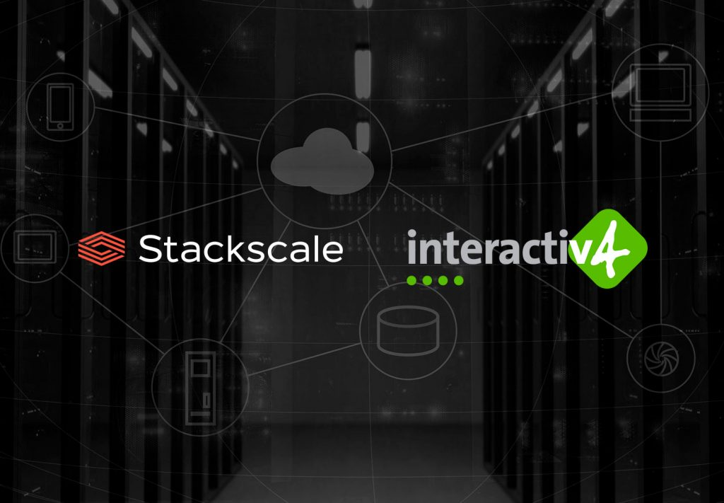 Stackscale and Interactiv4 partnership agreement 2013