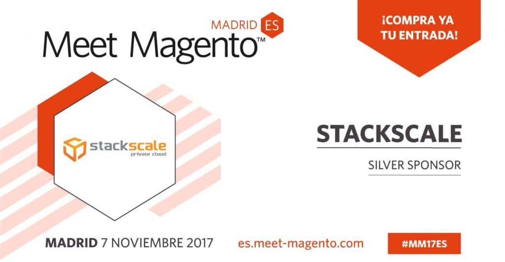 Stackscale es partner silver de la cuarta edición del Meet Magento España