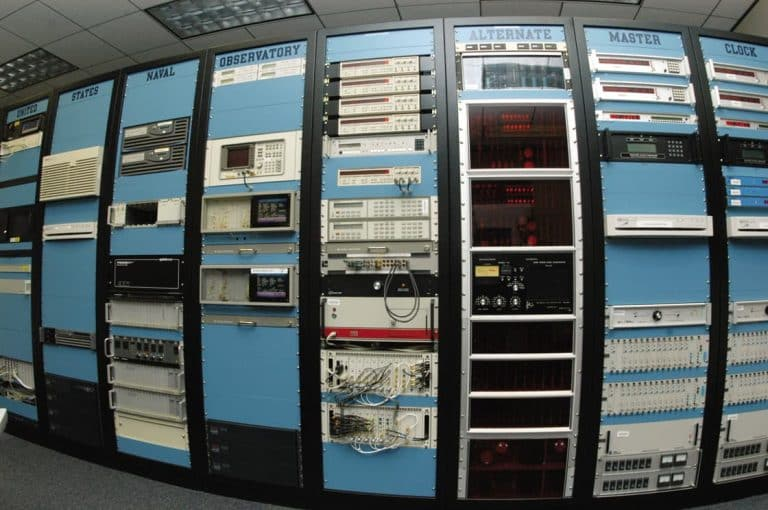 Time servers at the U.S. Naval Observatory