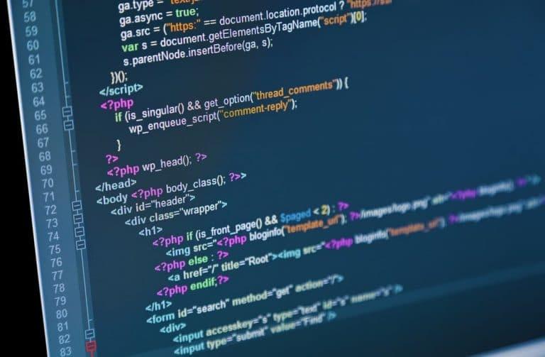 Programming language PHP
