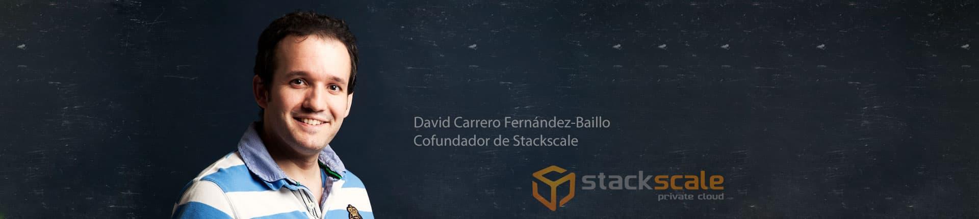 David Carrero habla de infraestructura cloud