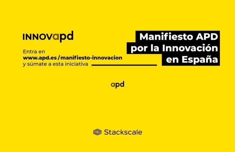 Stackscale firma el Manifiesto APD por la Innovación en España