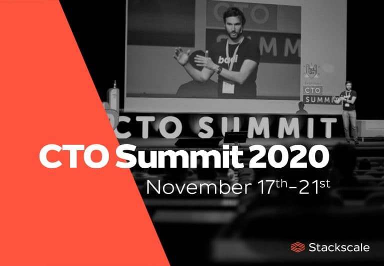 Stackscale sponsors the CTO Summit 2020 edition