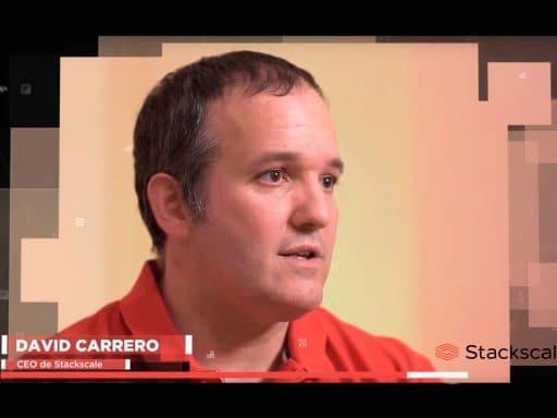 David Carrero, cofundador de Stackscale, en el documental El enemigo anónimo sobre ciberseguridad