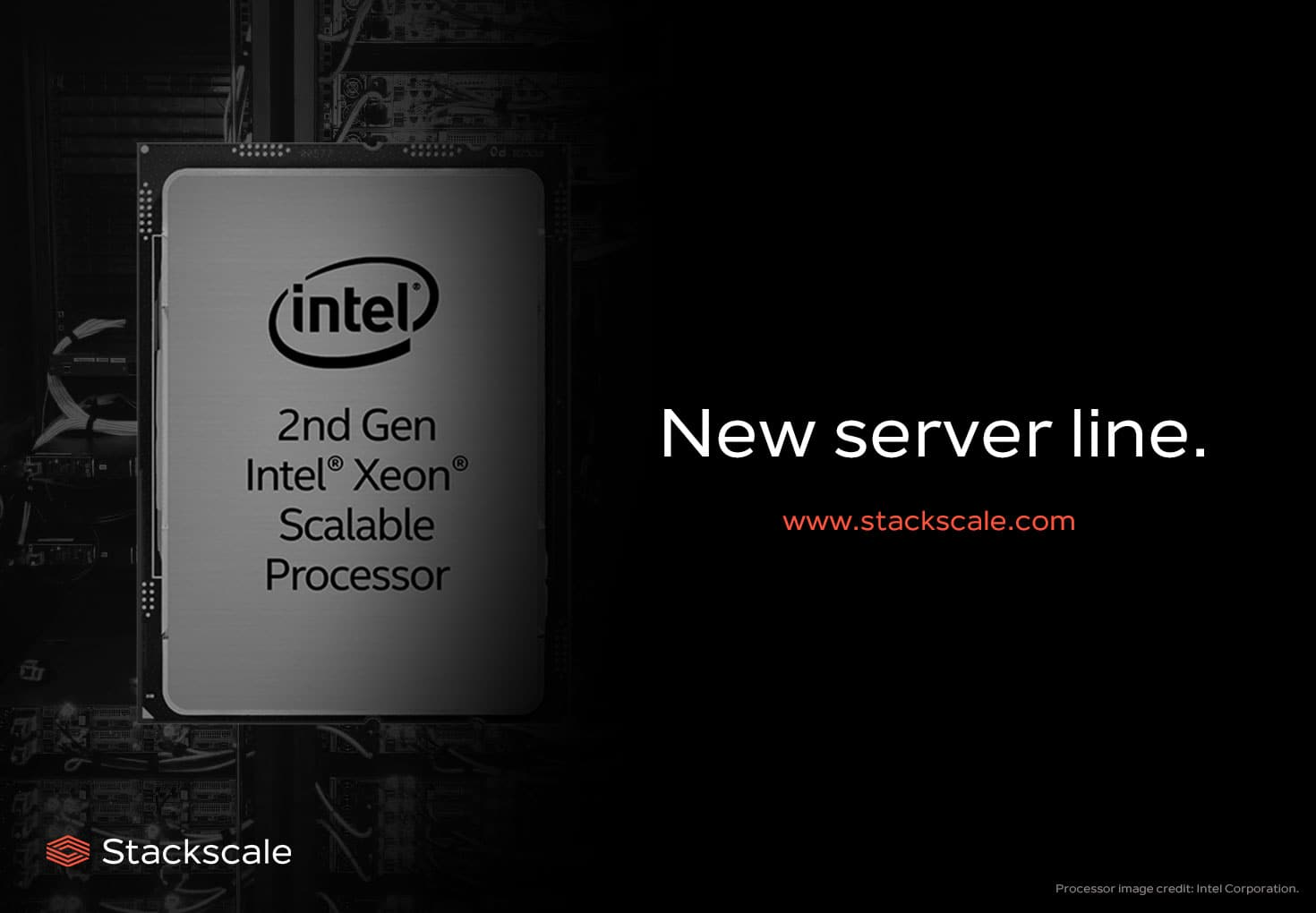 New nodes lines of Stackscale, with 2nd generation Intel Xeon Scalable processors