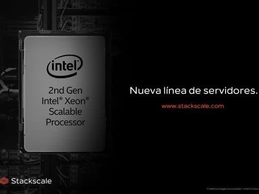 Nueva línea de nodos de Stackscale con procesadores Intel Xeon Scalable de 2ª generación