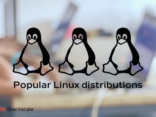 Popular Linux distributions