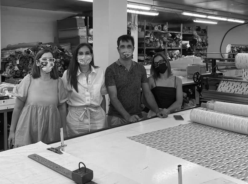 Equipo de Mascarillas Ángel Iglesias y Mascarillas Boticaria