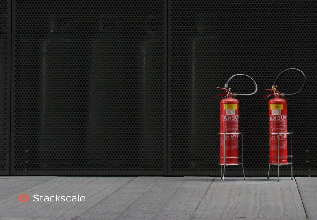 Fire safety in data centers