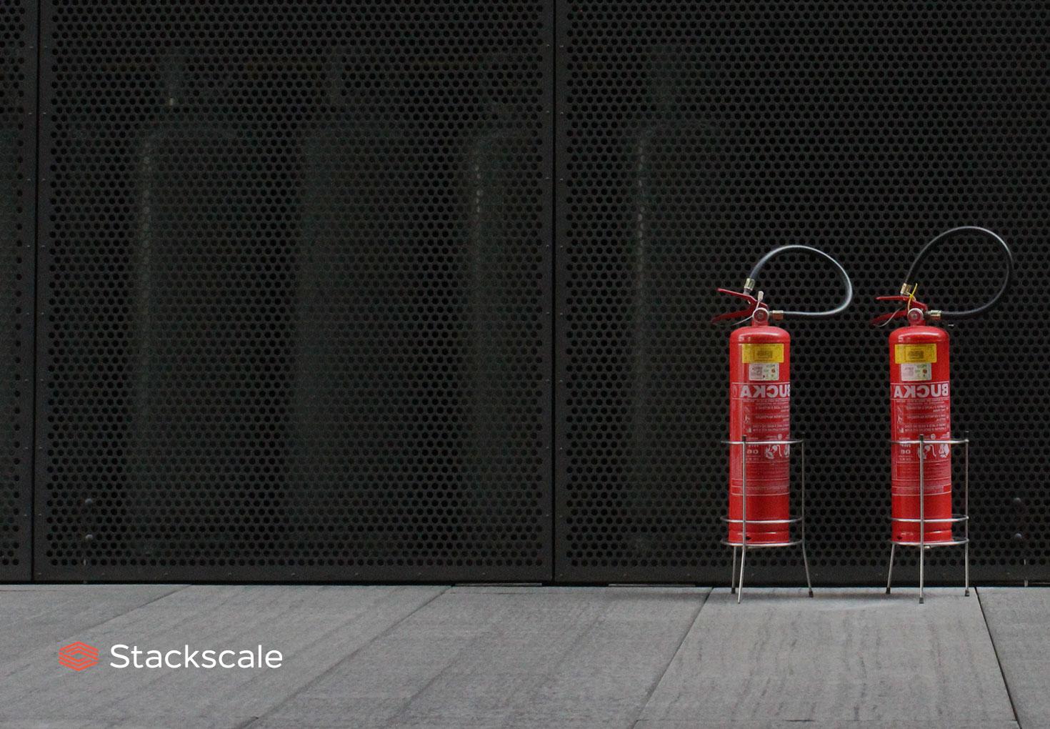 Seguridad contra incendiso en centros de datos