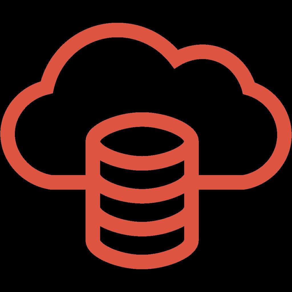 Icono de Big Data de Stackscale