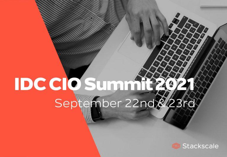 Stackscale at the IDC CIO Summit 2021