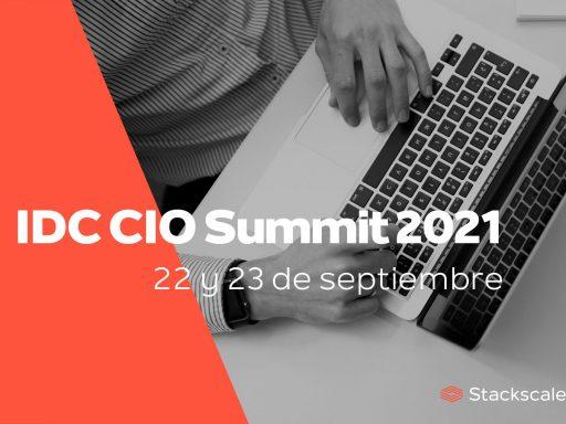 Stackscale en el IDC CIO Summit 2021 en España