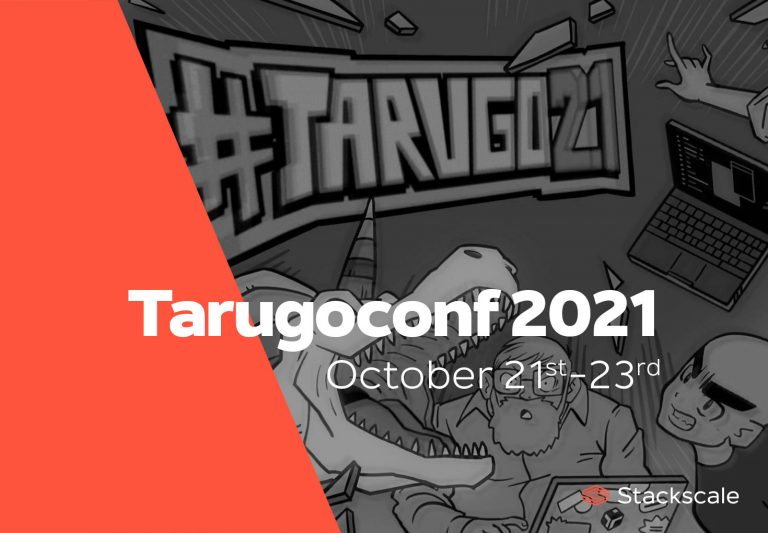 Tarugoconf 2021 from October 21st to October 23rd